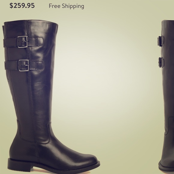 Details about Ecco Gore Tex Black Leather Tall Boots Womens Euro Size 36 US 5 5.5